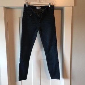 Loft Slim Pocket Skinny Jeans